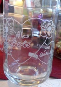 Trinkglas Steht noch zum Verkauf