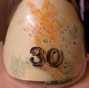 Vase Geburtstagsgeschenk für Antje