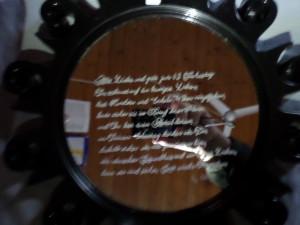 Spiegel in Sonnenform Geburtstagsgeschenk für meine Mama
