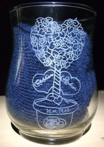 Vase Hochtzeitsgeschenk für meinen Bruder & seine Frau