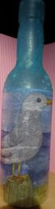 Plastikflasche steht noch zum Verkauf